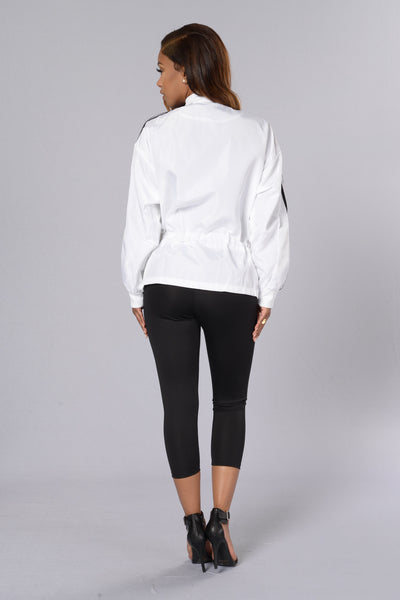Swish Jacket - White