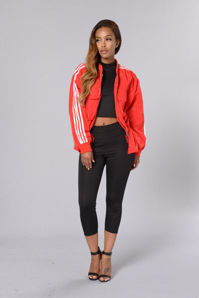 Swish Jacket - Red