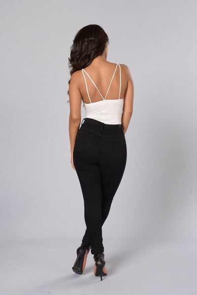Comfort Inn Bodysuit - White