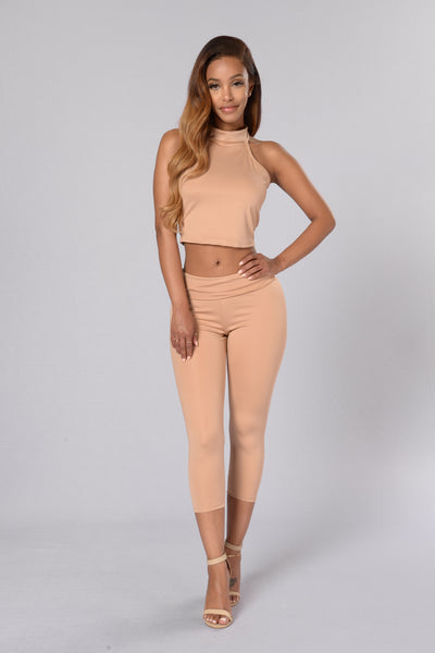 Second Skin Leggings - Nude