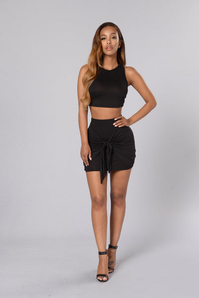 Fit For You Top - Black