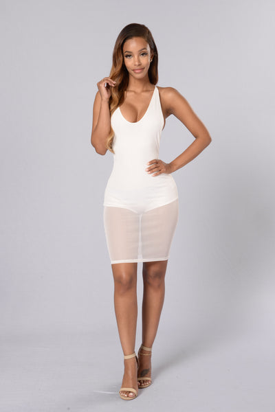 Braveheart Dress - White