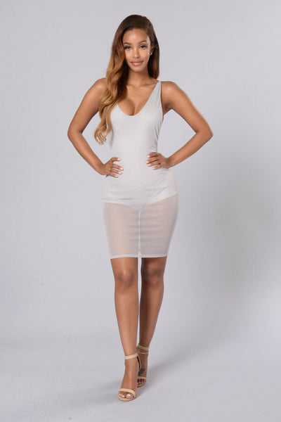 Braveheart Dress - Silver