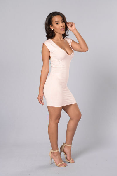 Alesia Dress - Blush