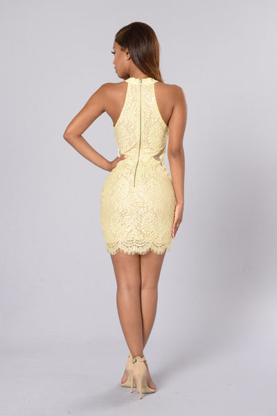 Tea Cake Dress - Lemon