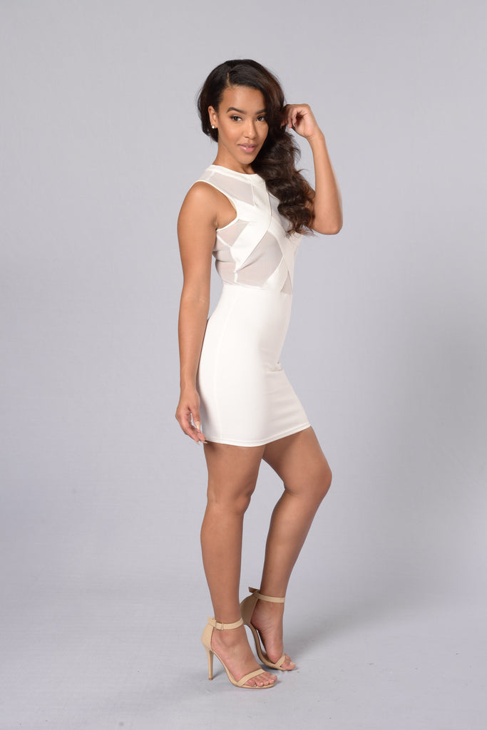 Sweetie Pie Dress - White