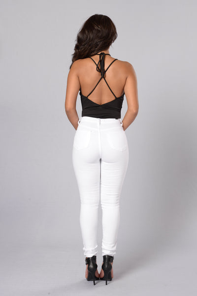 Chic Look Bodysuit - Black