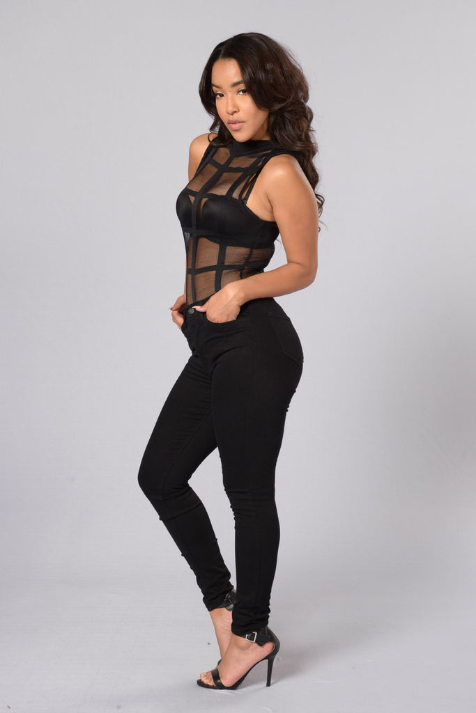 Project X Bodysuit - Black