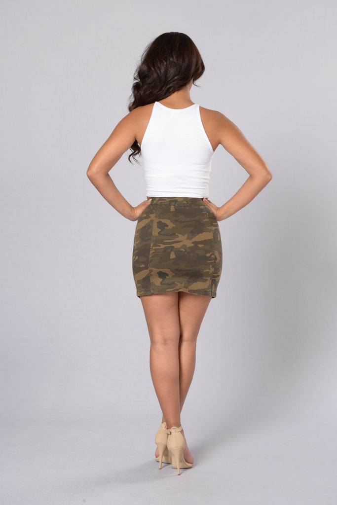 Hit The Road Skirt - Camo