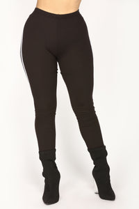 Knock Out Leggings - Black