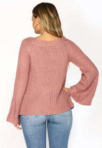 Joyce Sweater - Dark Rose