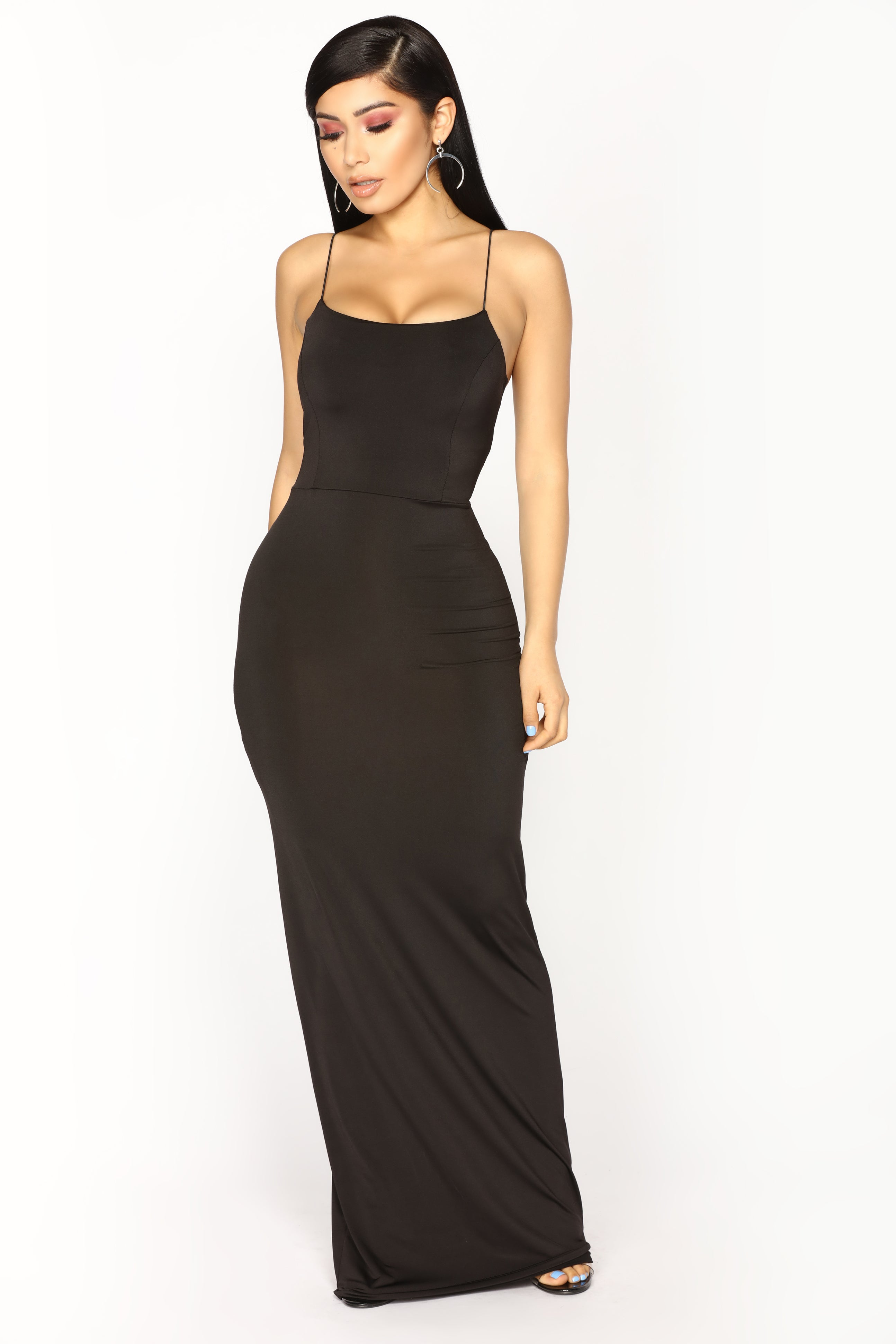 Kiki maxi dress black for What to wear over a sleeveless dress to a wedding