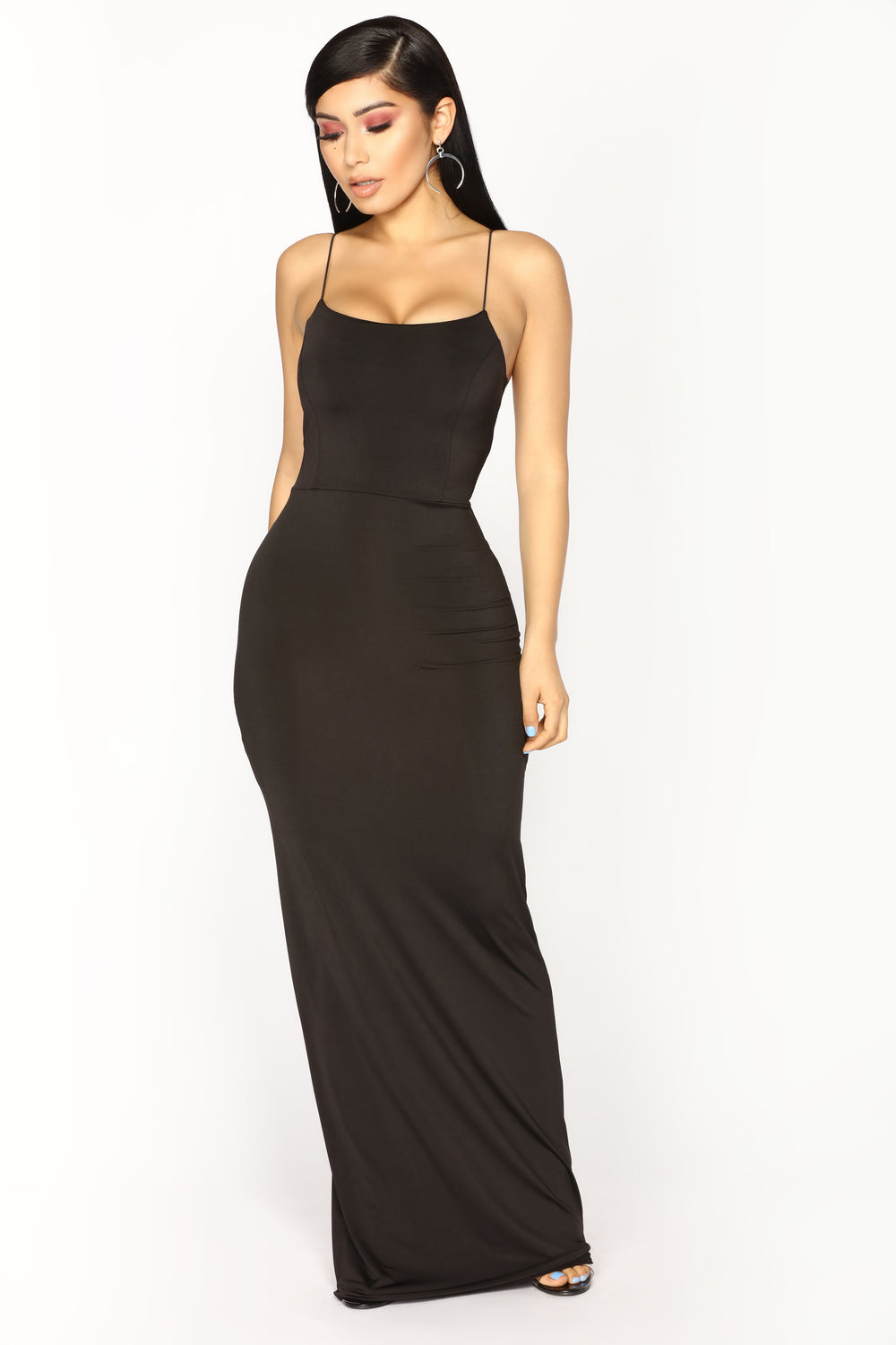 Kiki Maxi Dress - Black