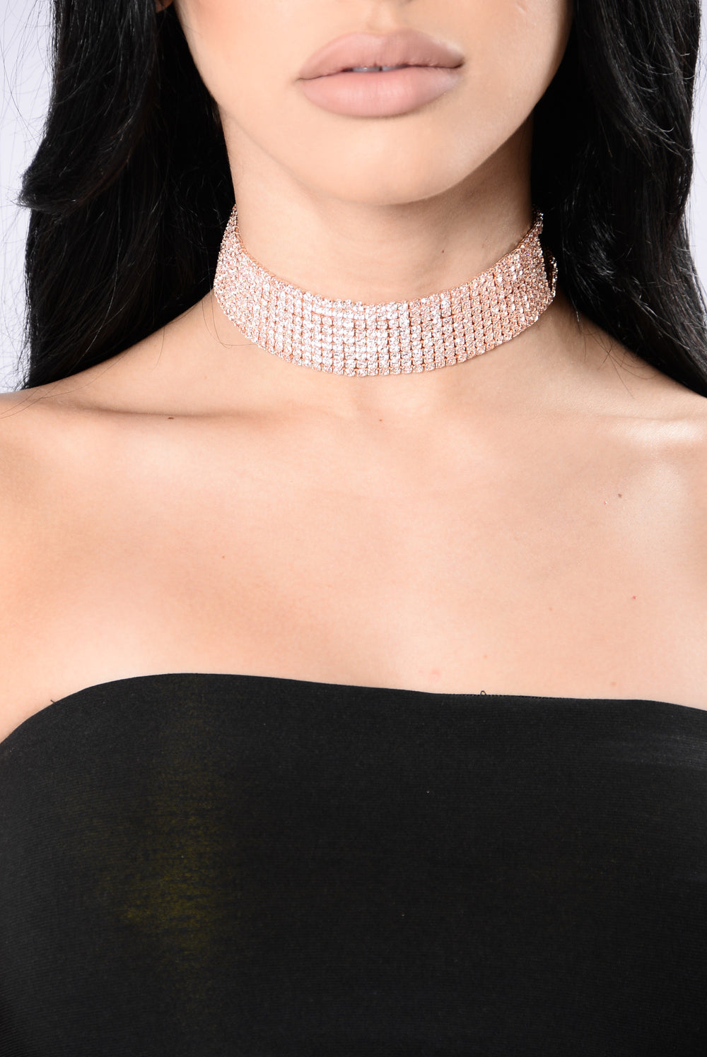 By Chance Choker - Rose Gold