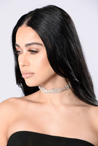Love You Better Choker - Rose Gold