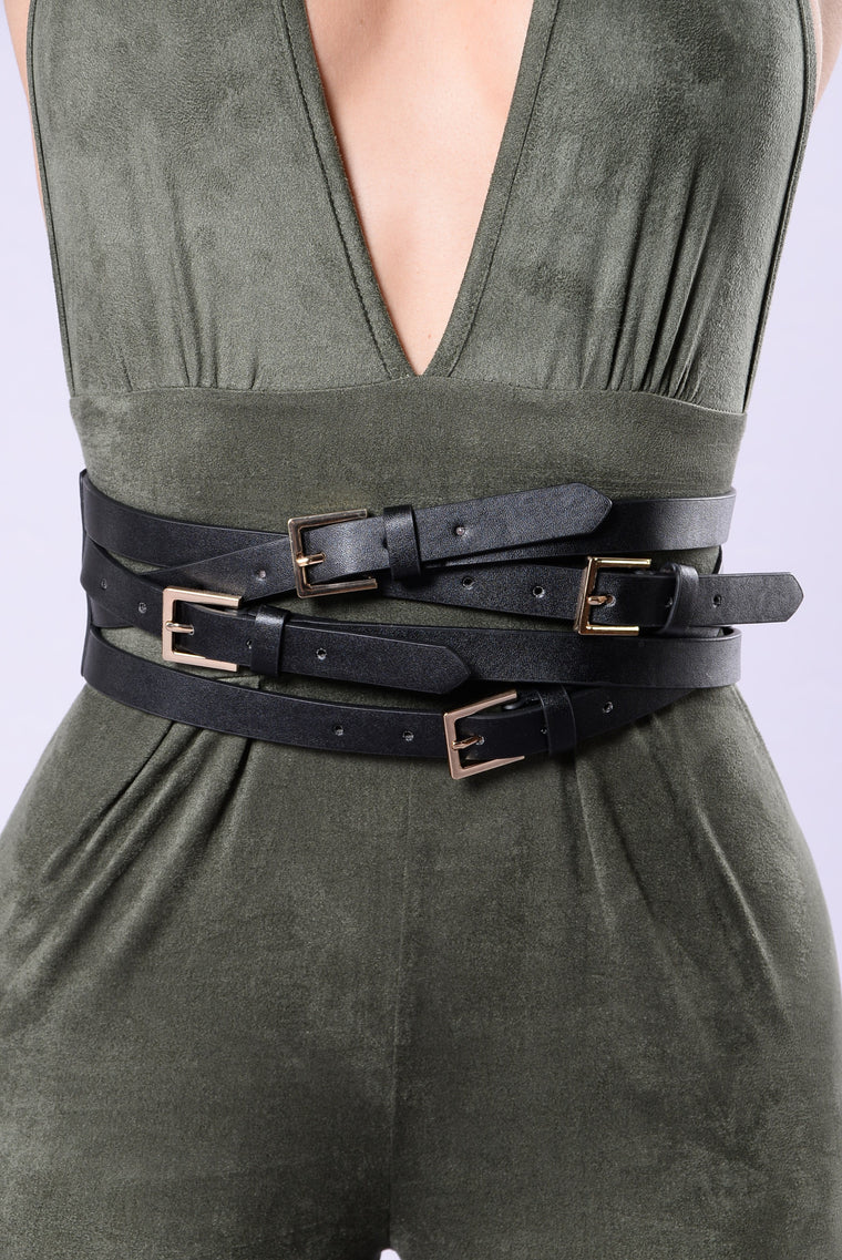 Deep Chills Belt - Black/Gold