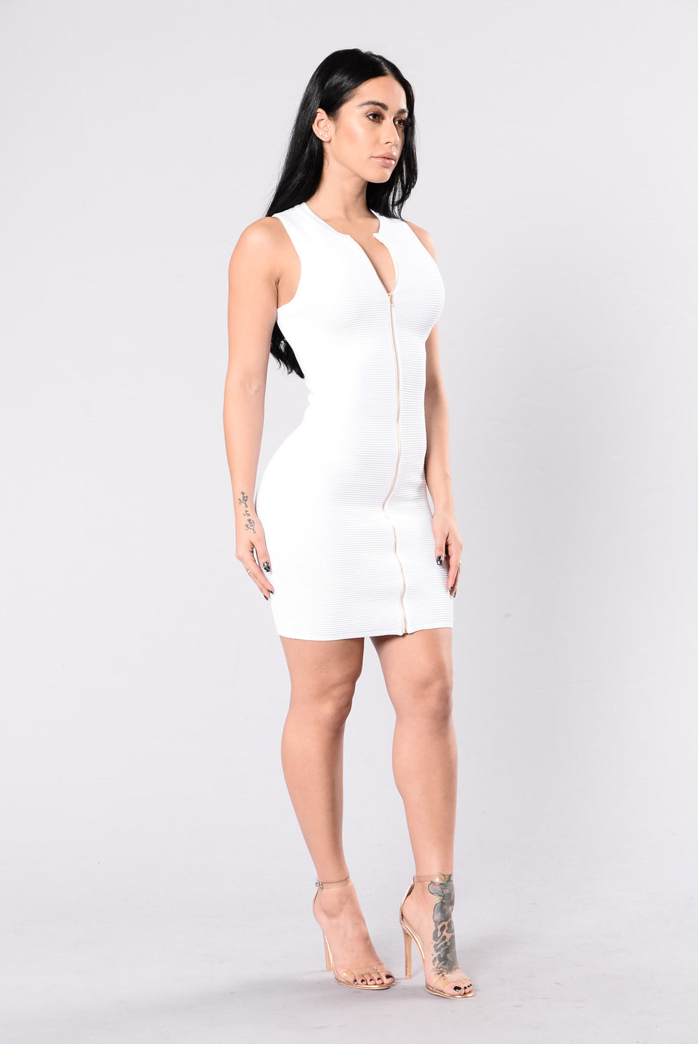 Big Deal Dress - White