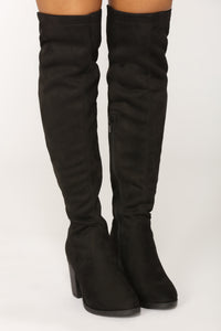 Tie Me Up Boot - Black