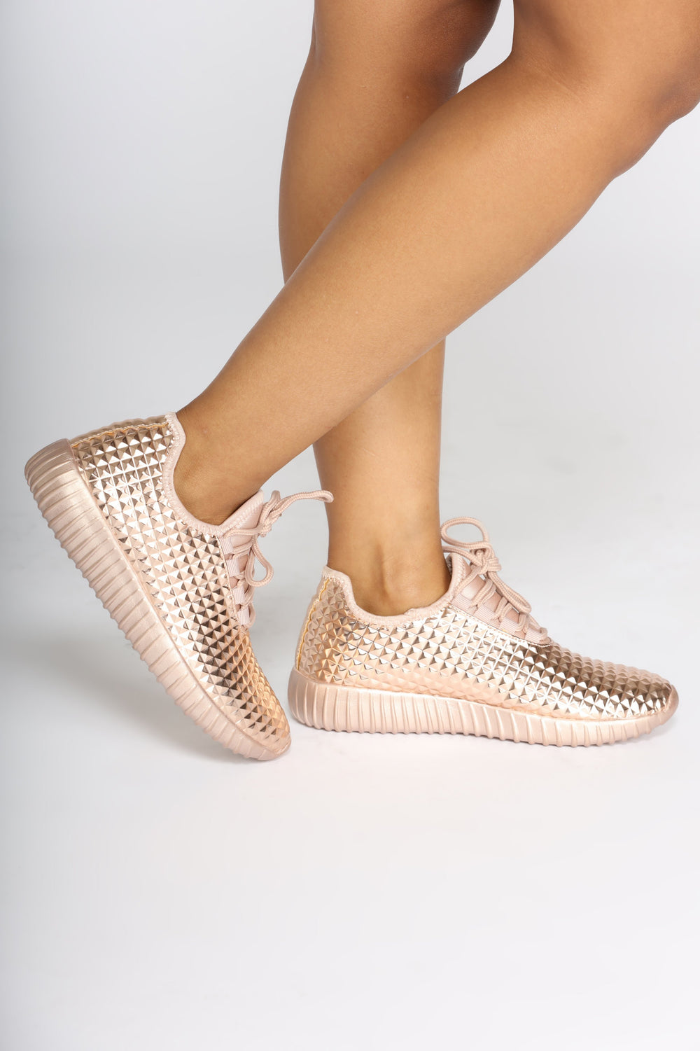 Rock N Run Sneaker - Rose Gold