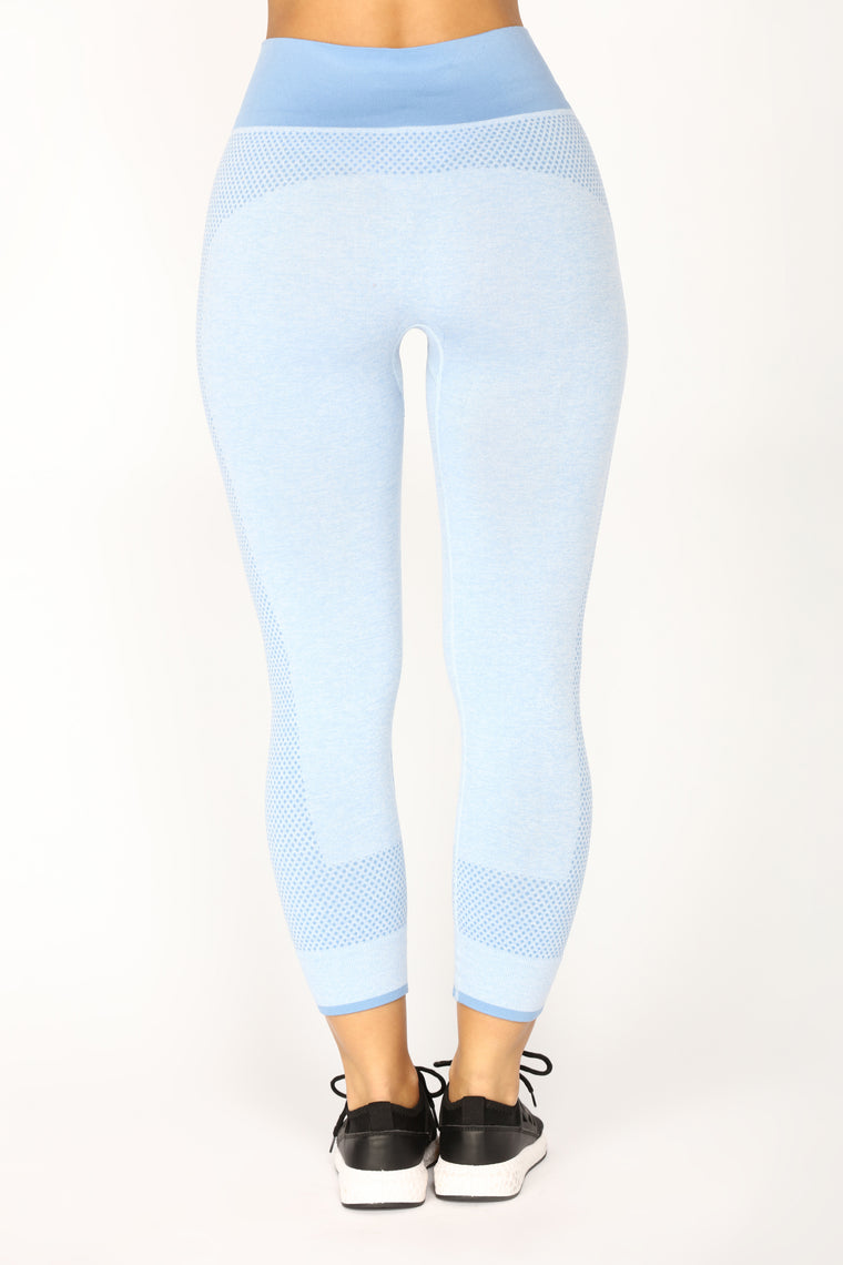 On The Move Active Pant Set - Blue