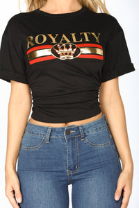 Royalty Tee - Black