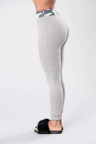 On Leave Pants - Heather Grey