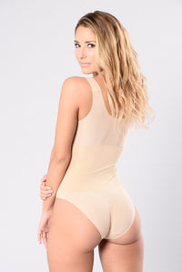 Nude teddy and bodysuit for women Angle 2