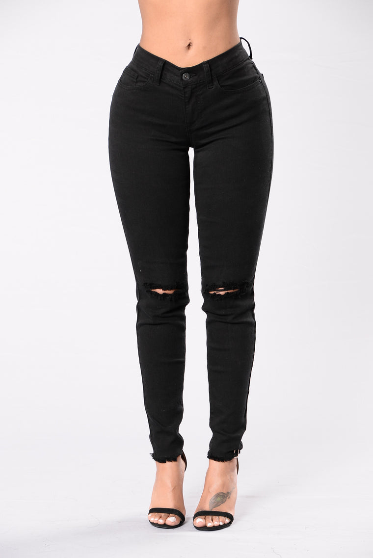 Keep Up Jeans - Black