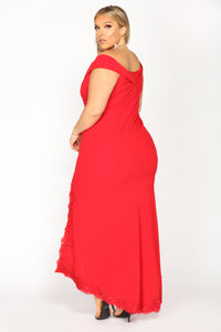 Love At Last Dress - Red
