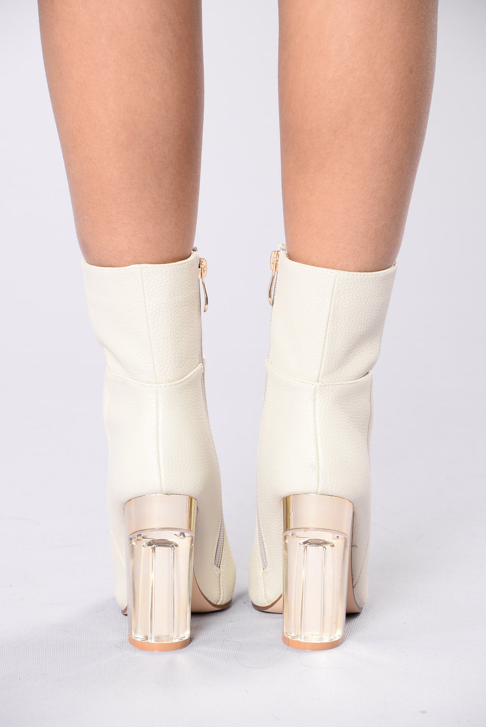 Rise To The Top Boot - White