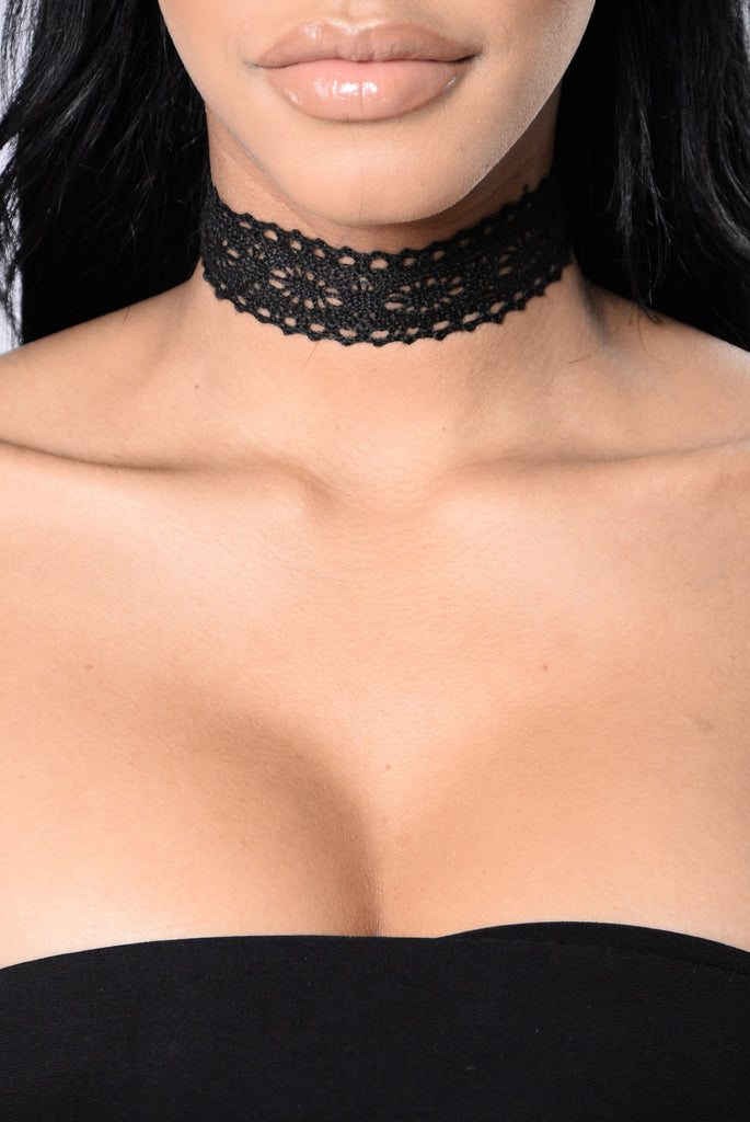 The Black Parade Choker - Black