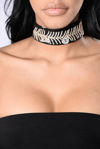 Hood Love Choker - Black