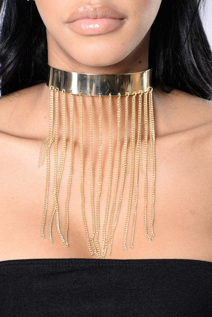 So Extra Choker - Gold