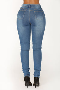 Party Monster Jeans - Medium Blue
