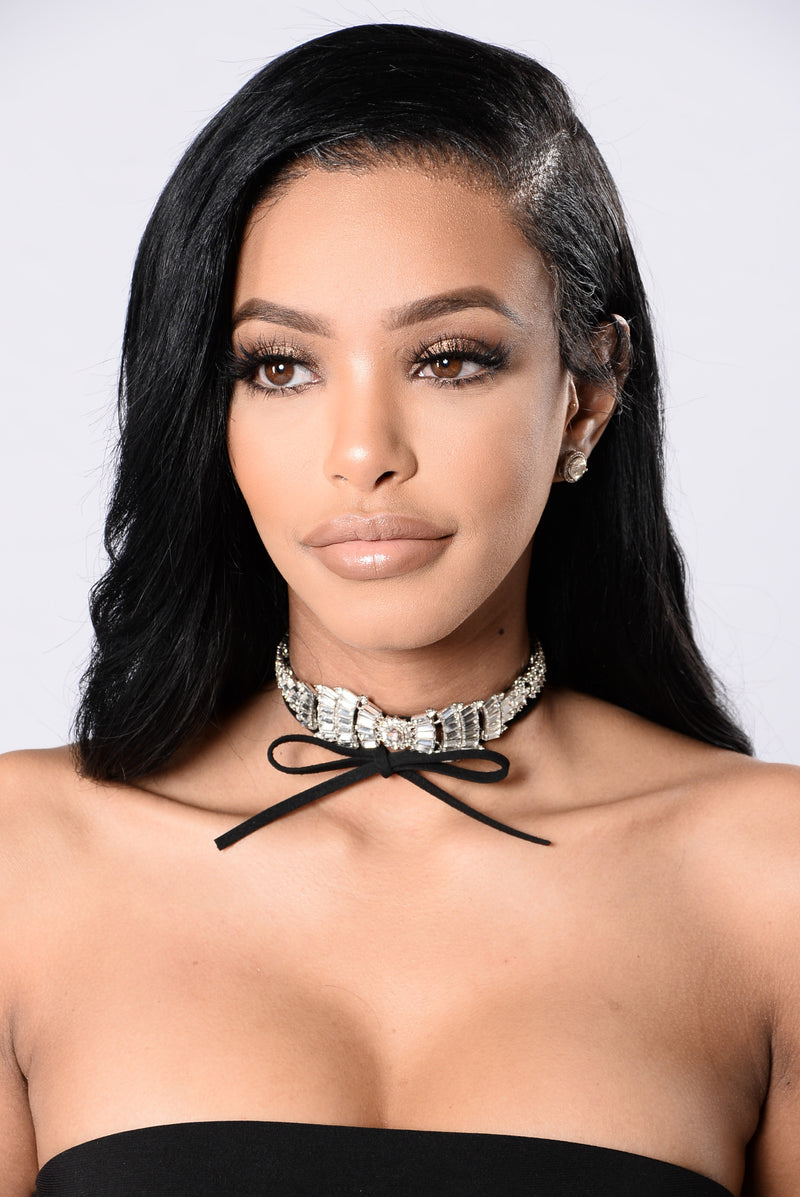 Break The Bank Choker - Silver