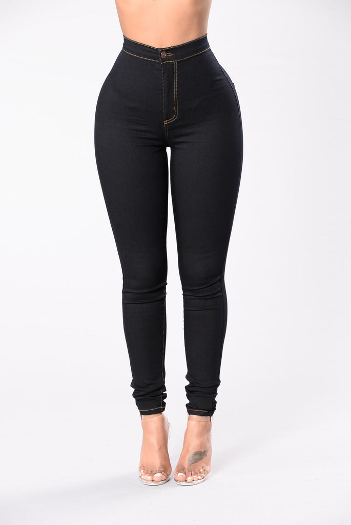 Topnotch High Waist Jeans - Indigo