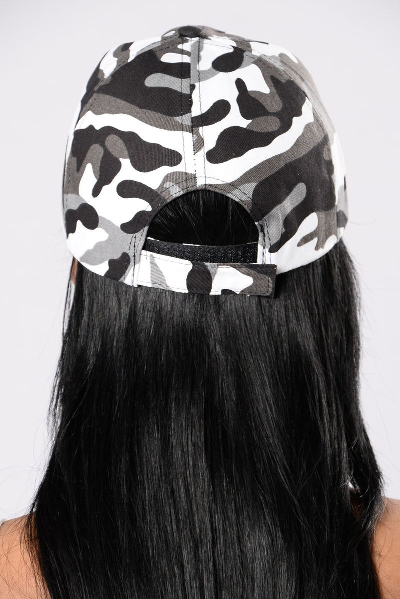 Bases Loaded Cap - Black/White