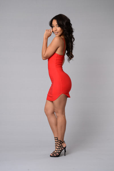 Cassandra Dress - Red