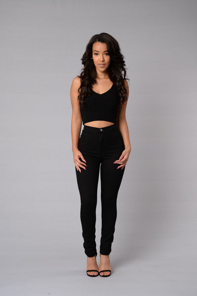 Sheila Top - Black