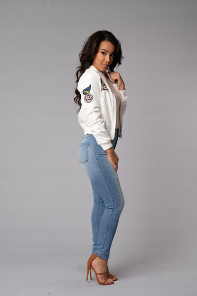 Bomb Squad Jacket - White