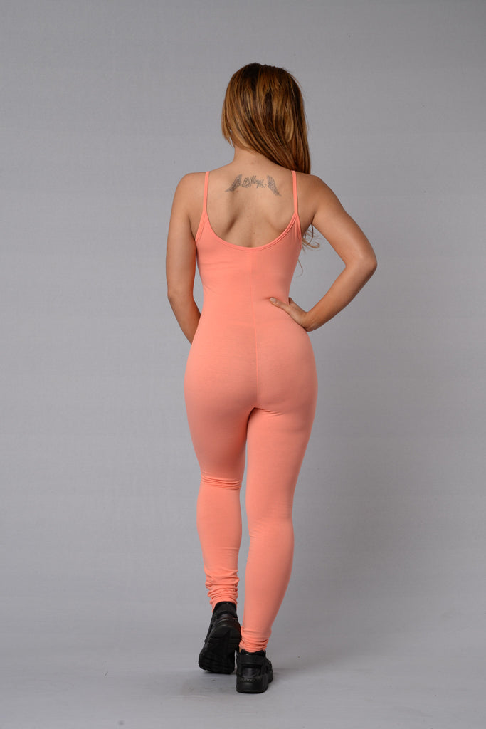 Nova Season Jumpsuit - Peach