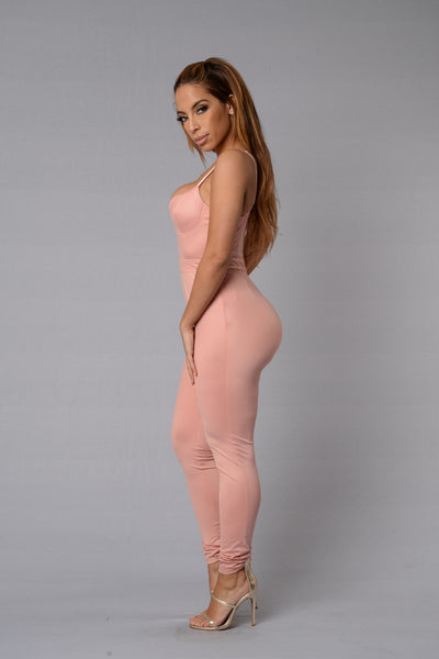 Rita Jumpsuit - Blush