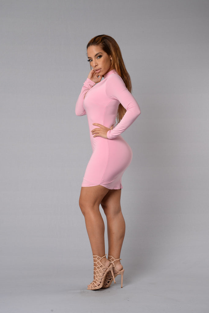 Layla Dress - Blush