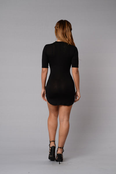 Make a Wish Dress - Black
