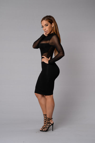 Revamp Dress - Black