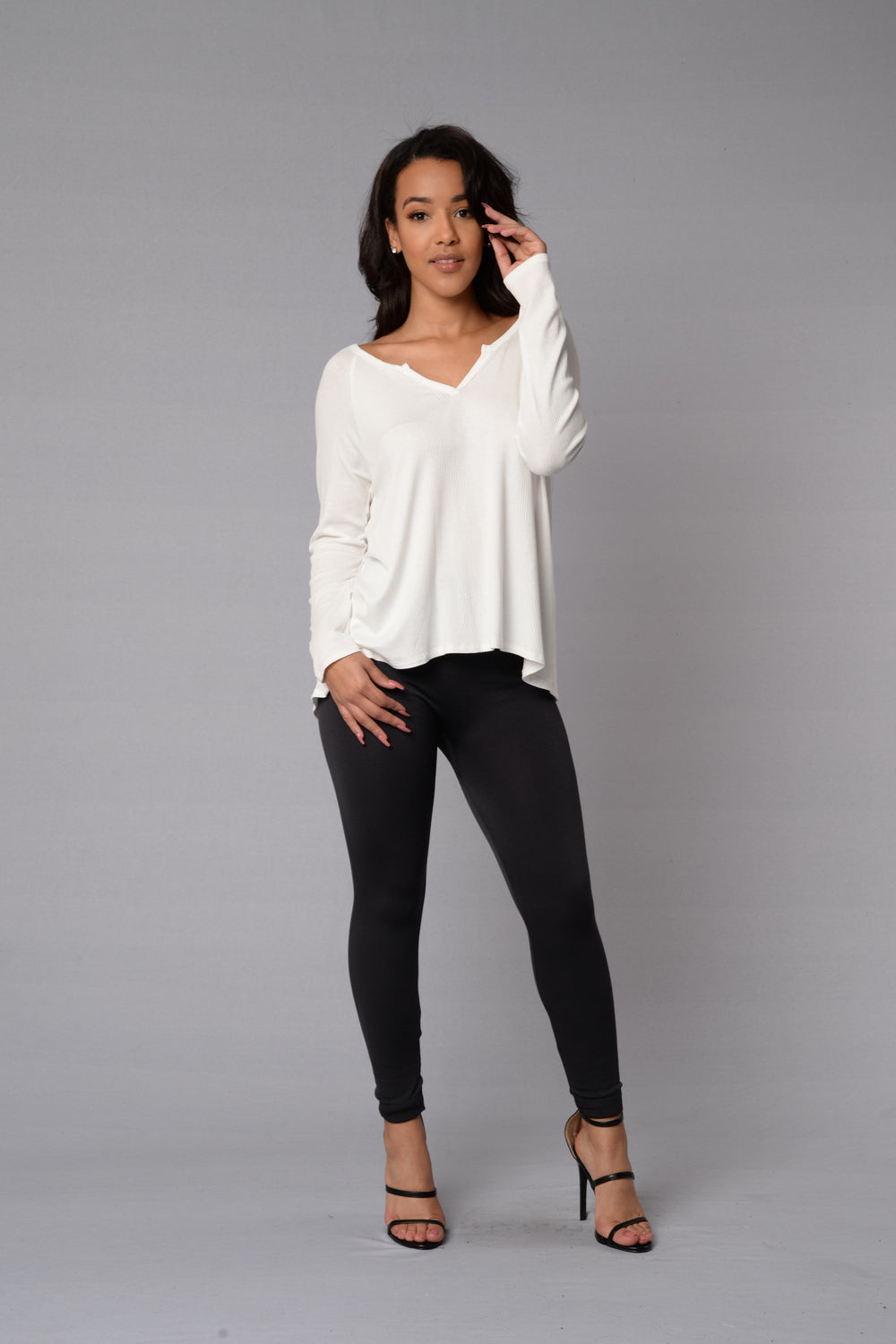 Jillian Top - Ivory