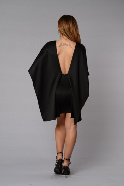 Cape May Dress - Black