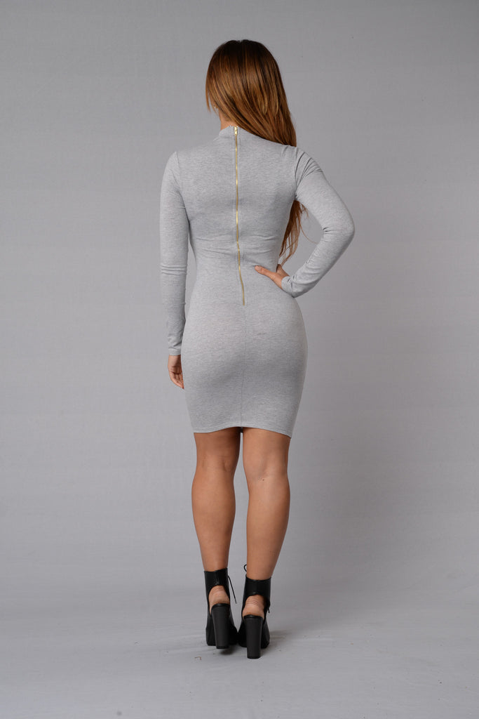 Pamela Dress - Grey