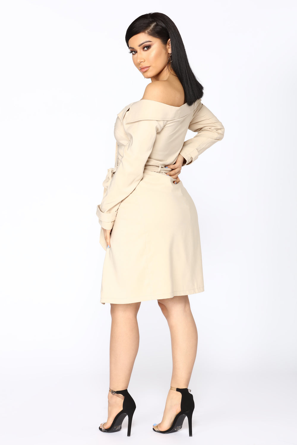 Trench Me Up Jacket - Taupe