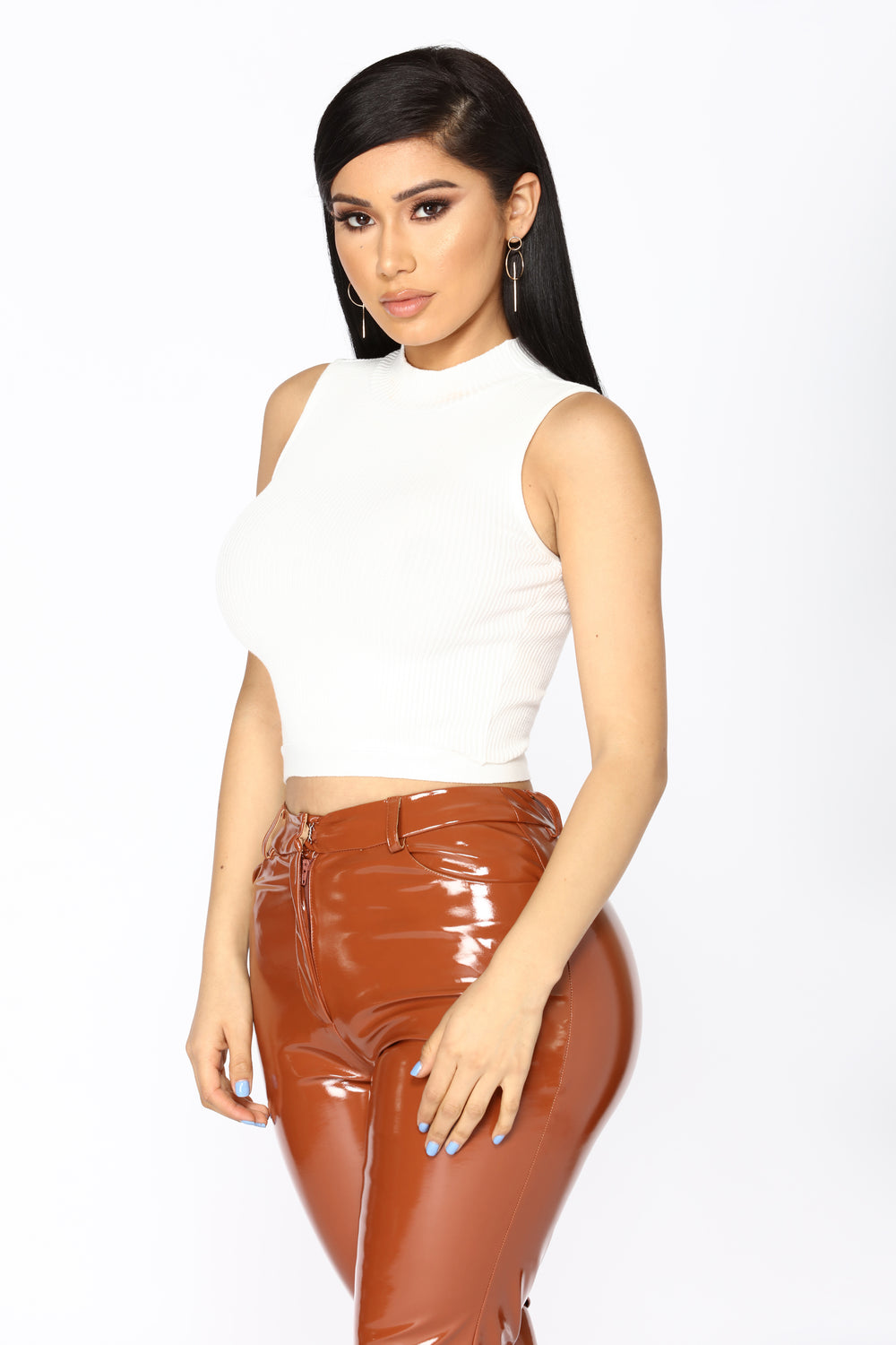 Millions Of Reasons Waist Tie Top - White
